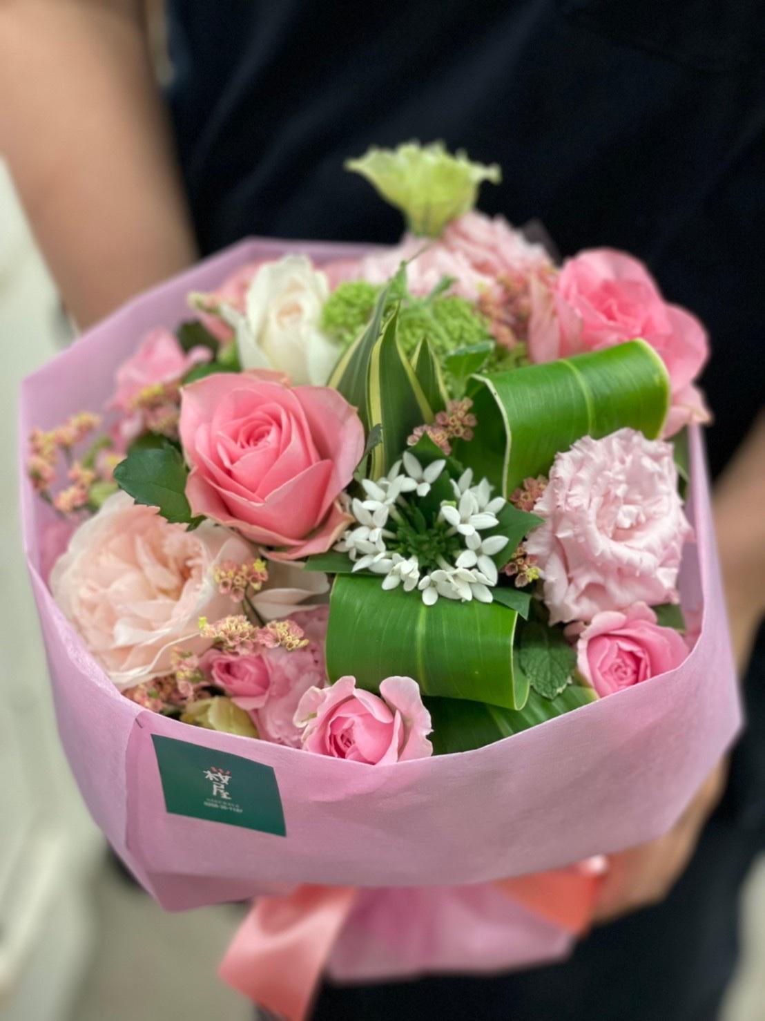 花束【ピンク】